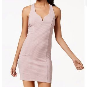 Trixxi | Ribbed Strappy-Back Bodycon Dress